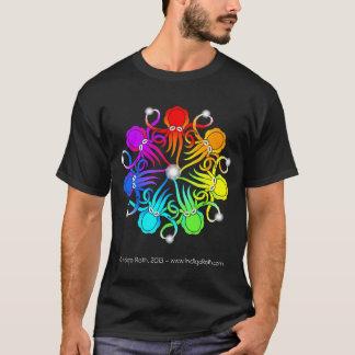 T-shirt Pièce en t 2013 noire de CephNet (TM)
