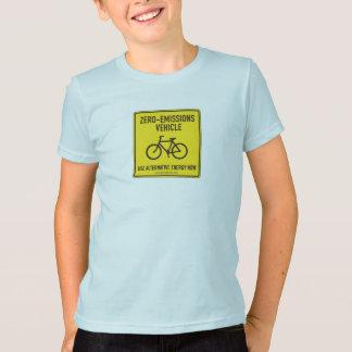 T-shirt Pièce en t à émission nulle d'enfants