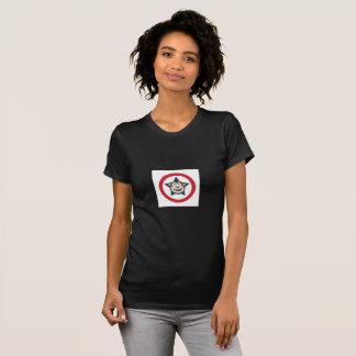 T-shirt Pièce en t à manches courtes de dames superbes de