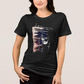 T-shirt Pièce en t abstraite de crâne