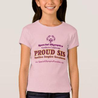 T-shirt Pièce en t adaptée par jeunesse fière de SIS