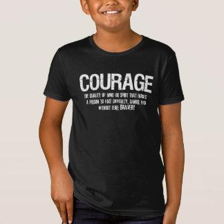 T-Shirt Pièce en t affligée inspirée par Defintion de