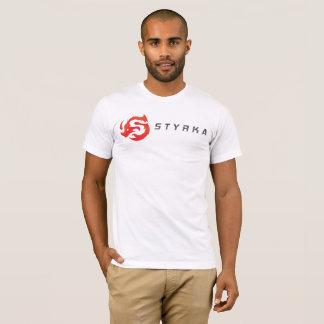 T-shirt Pièce en t américaine de logo de l'habillement des