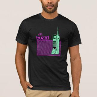 T-shirt pièce en t américaine d'habillement de buzzd