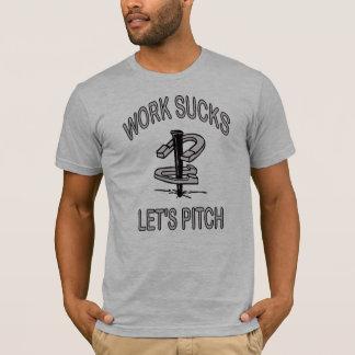 T-shirt Pièce en t américaine Fer à cheval-De base