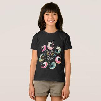 T-shirt Pièce en t américaine rêveuse de la jeunesse