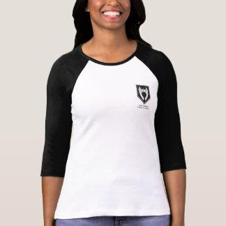 T-shirt Pièce en t anormale de base-ball de presse de