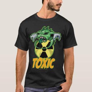 T-shirt Pièce en t atomique de toxique de têtard