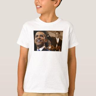 T-shirt Pièce en t Barack Obama 1-20-09 d'enfants