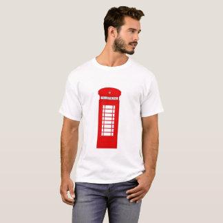 T-shirt Pièce en t britannique de cabine téléphonique