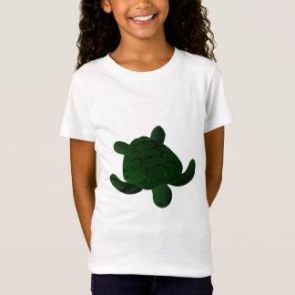 T-Shirt Pièce en t brouillée de tortue