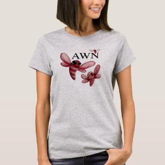 T-shirt Pièce en t classique de logo de BARBELURE