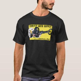 T-shirt Pièce en t classique d'entrave de hot rod des