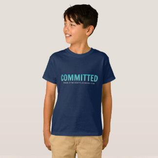T-shirt Pièce en t commise d'enfants