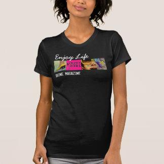 T-shirt Pièce en t confortable d'éclat
