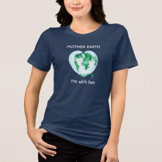 T-shirt Pièce en t convenable détendue de mars de la