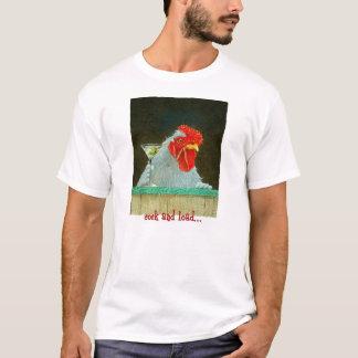 """T-shirt Pièce en t """"coq et charge """" de Bullas"""