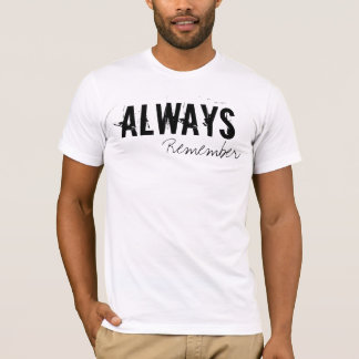 T-SHIRT PIÈCE EN T D'ALWAYS/NEVER
