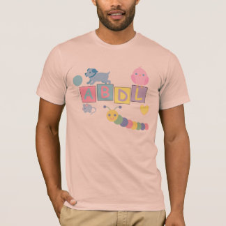 T-shirt Pièce en t d'amour de bébé d'AB/ABDL/Adult