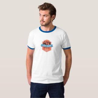 T-shirt Pièce en t d'anneau de GinJam de camp