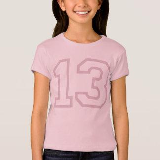 T-shirt Pièce en t d'ANNIVERSAIRE de fac 13ème
