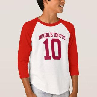 T-shirt Pièce en t d'ANNIVERSAIRE de la FAC #10 de DOUBLES