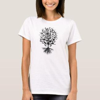 T-shirt Pièce en t d'arbre d'instruments de musique