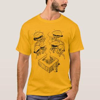 T-shirt Pièce en t de bain de vapeur de palourde