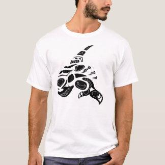 T-shirt Pièce en t de baleine d'Inuit
