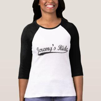 T-shirt Pièce en t de base-ball de douille du tour de
