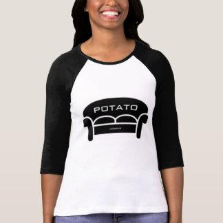 T-shirt Pièce en t de base-ball de logo de