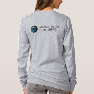 T-shirt Pièce en t de base de la douille des femmes de