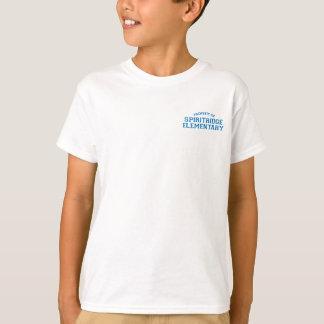 T-shirt Pièce en t de base d'enfants élémentaires de