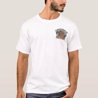 T-shirt Pièce en t de base d'haricots de montagnard