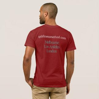 T-shirt Pièce en t de base rouge du #WellnessWarrior des