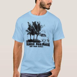 T-shirt Pièce en t de bassin de bateau de Hagatna