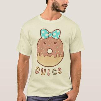 T-shirt Pièce en t de beignet de chocolat