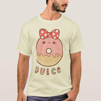 T-shirt Pièce en t de beignet de fraise