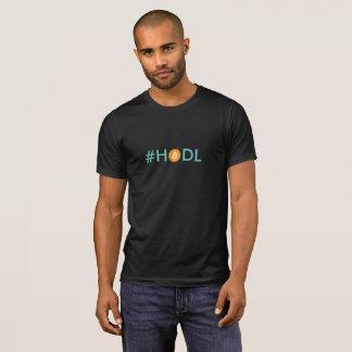 T-shirt Pièce en t de Bitcoin Cryptocurrency de #HODL