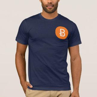 T-shirt Pièce en t de Bitcoin de marine