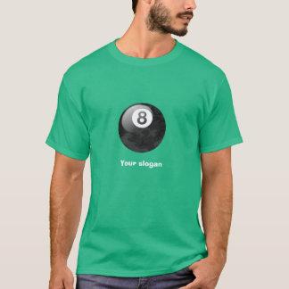 T-shirt Pièce en t de boule de l'édition huit de Camo avec