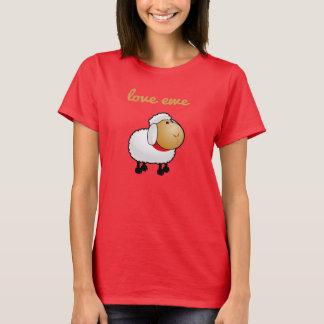 T-shirt Pièce en t de brebis d'amour (vous)