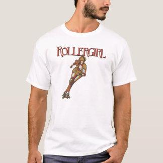 T-shirt Pièce en t de brouilleur de Rollergirl
