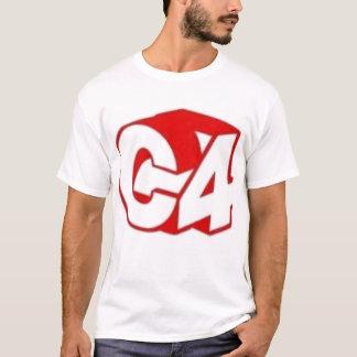T-shirt Pièce en t de C4 trois Dee