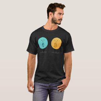 T-shirt Pièce en t de cadeau d'Ethereum Bitcoin