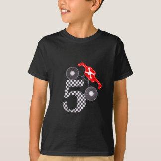 T-shirt pièce en t de camion de monstre