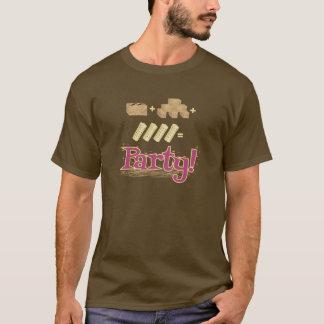 """T-shirt Pièce en t de chasse à grange """"d'équation"""