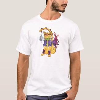 T-shirt Pièce en t de chat de Steampunk Hansel
