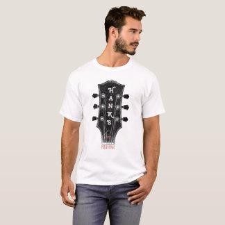 T-shirt Pièce en t de chef de la guitare de Hank (hommes)