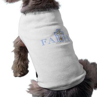 T-shirt Pièce en t de chien de foi